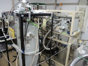 Vector superconducting magnet and dilution refrigerator (Oxford)